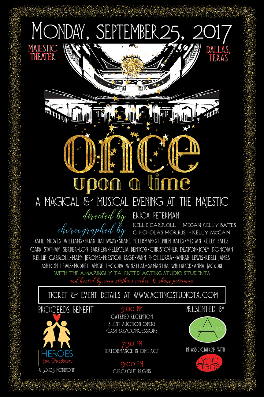 Once Upon a Time Benefit Poster