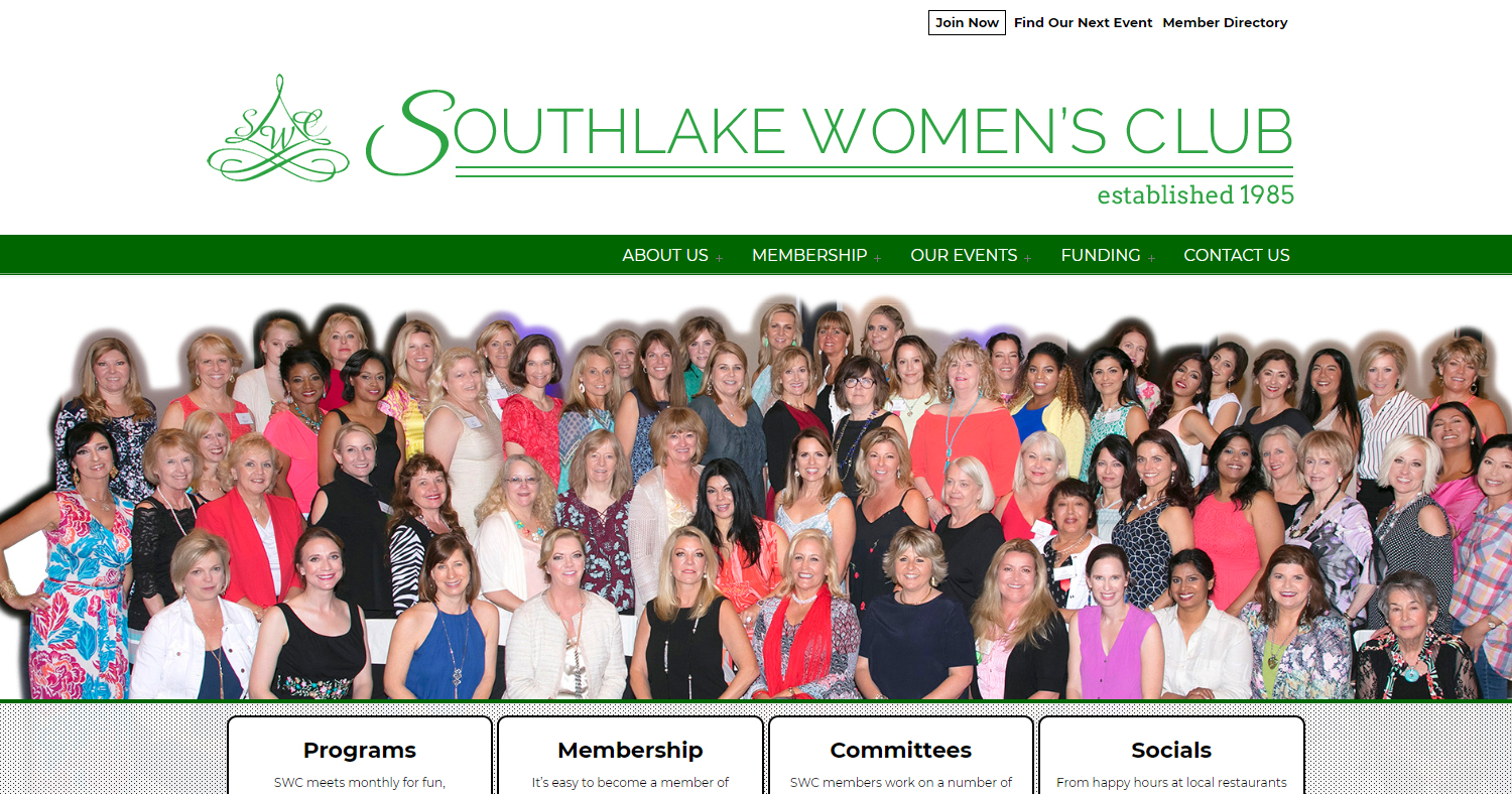 Southlake Women's Club Website