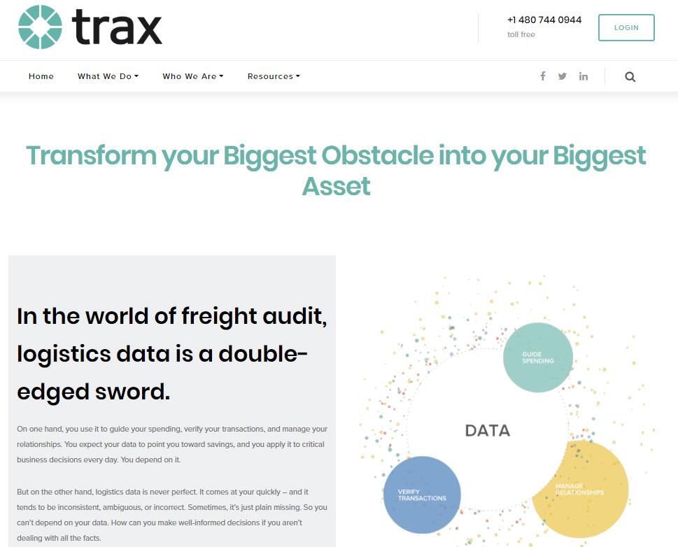 Trax Web Copy
