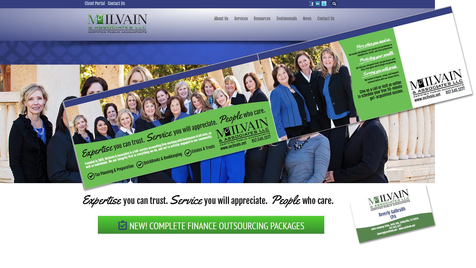 Branded McIlvain Package
