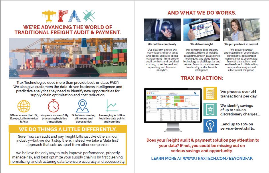 Trax Datasheet